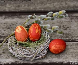 Puzzle de Un nido de Pascua