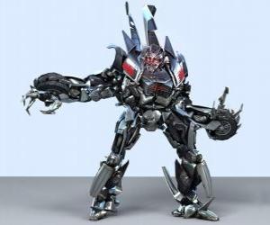 Puzzle de Un transformer, un robot inteligente. Transformers
