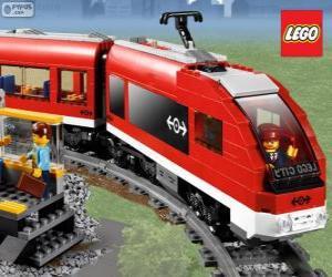 Puzzle de Un tren de Lego