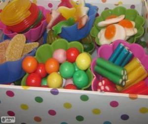 Puzzle de Una caja de dulces