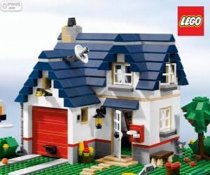 Puzzle de Una casa de Lego