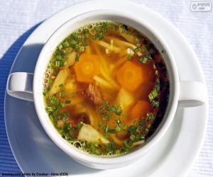 Puzzle de Una sopa caliente