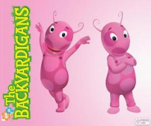 Puzzle de Uniqua, Los Backyardigans