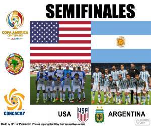Puzzle de USA-ARG, Copa América 2016