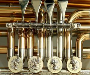 Puzzle de Válvulas de una tuba