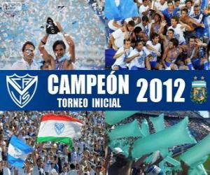 Puzzle de Vélez Sarsfield, Campeón del Torneo Inicial 2012, Argentina