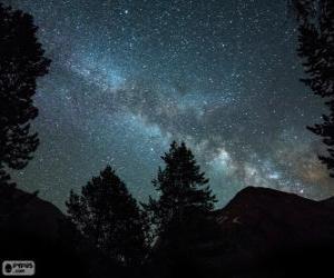 Puzzle de Vía Láctea
