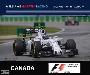 Puzzle de V. Bottas G.P. Canadá 2015