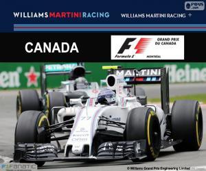 Puzzle de V. Bottas, G.P Canadá 2016
