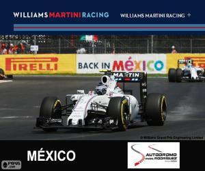 Puzzle de V. Bottas G.P. México 2015
