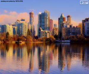Puzzle de Vancouver, Canadá