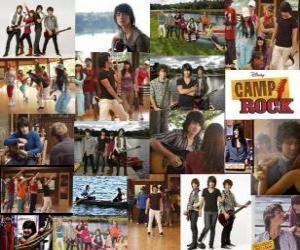 Puzzle de Varias imagenes de Camp Rock
