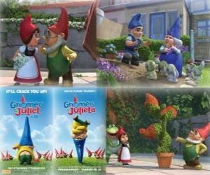 Puzzle de Varias imagenes de Gnomeo y Julieta