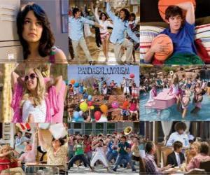 Puzzle de Varias imagenes de High School Musical 2