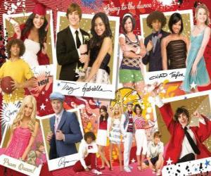 Puzzle de Varias imagenes de High School Musical 3