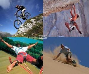 Puzzle de Varios deportes extremos y de aventura