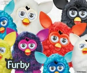 Puzzle de Varios Furbys