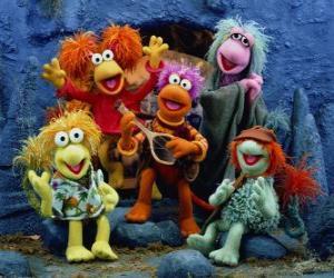 Puzzle de Varios Muppets cantando
