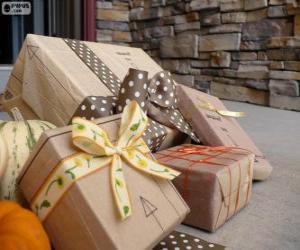 Puzzle de Varios regalos de Navidad