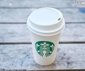 Puzzle de Vaso de Starbucks