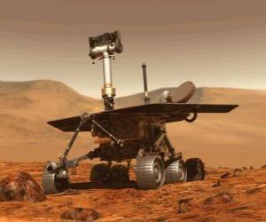 Puzzle de Vehículo espacial no tripulado de investigación en la superfície lunar
