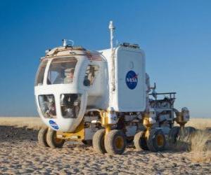 Puzzle de Vehiculo para la exploración de otros planetas