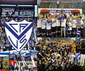 Puzzle de Vélez Sarsfield, Campeón Clausura 2011, Argentina