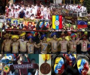 Puzzle de Venezuela, 4º clasificado Copa América 2011