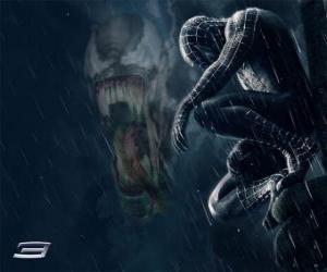 Puzzle de Venom comparte con Spiderman muchos de sus poderes y habilidades