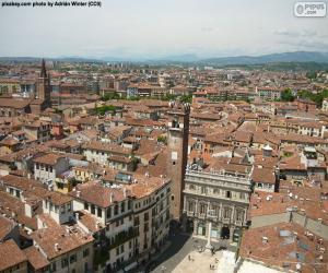 Puzzle de Verona, Italia