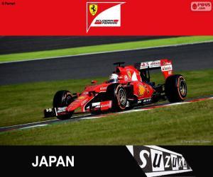 Puzzle de Vettel G. P de Japón 2015