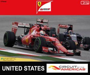 Puzzle de Vettel, G.P EEUU 2015