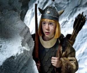 Puzzle de Vicky el vikingo sorprendido