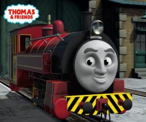 Puzzle de Victor es el jefe de los talleres ferroviarios de Sodor