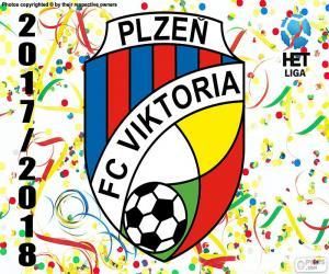 Puzzle de Viktoria Plzen, HET Liga 2017-18