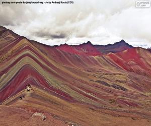 Puzzle de Vinicunca, Perú