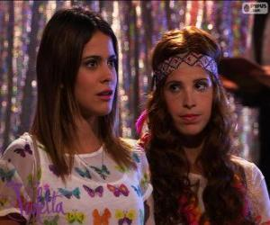 Puzzle de Violetta y Camila