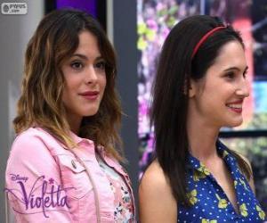 Puzzle de Violetta y Francesca