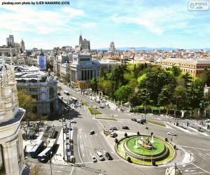 Puzzle de Vista de Madrid, Alcalá-Gran Vía