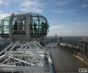 Puzzle de Vista desde el London Eye