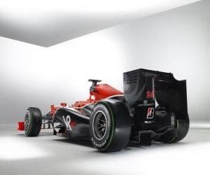 Puzzle de Vista posterior, Virgin VR-01