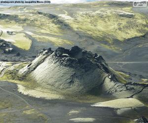 Puzzle de Volcán Laki, Islandia