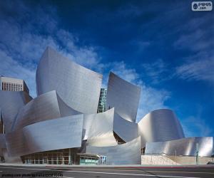 Puzzle de Walt Disney Concert Hall, USA