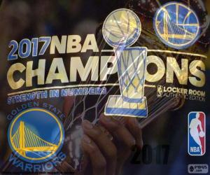 Puzzle de Warriors campeones NBA 2017