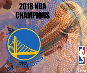 Puzzle de Warriors campeones NBA 2018