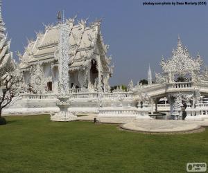 Puzzle de Wat Rong Khun, Tailandia