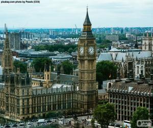 Puzzle de Westminster, Big Ben, Londres
