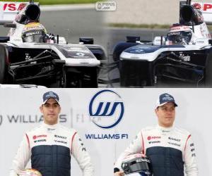 Puzzle de Williams F1 Team 2013
