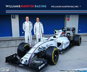 Puzzle de Williams F1 Team 2015