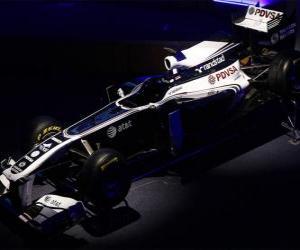 Puzzle de Williams FW33 - 2011 -